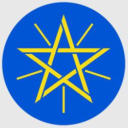 Аддис-Абеба — герб города, картинка цветная