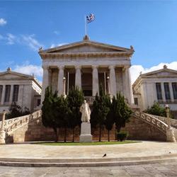 Афины — город, картинка цветная