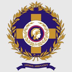 Афины — герб города, картинка цветная