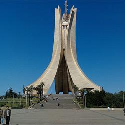 Алжир — город, картинка цветная