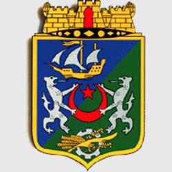 Алжир — герб города, картинка цветная