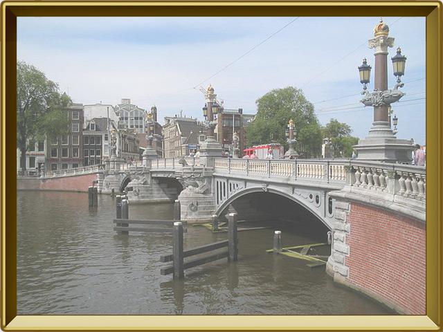 Амстердам — город, фото в рамке №3
