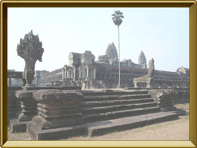 Ангкор — город, фото в рамке №1