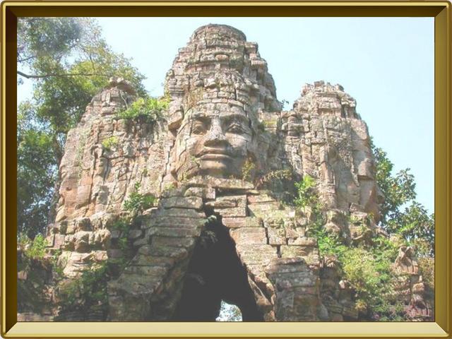 Ангкор — город, фото в рамке №2