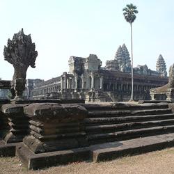 Ангкор — город, картинка цветная