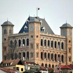 Антананариву — город, картинка цветная