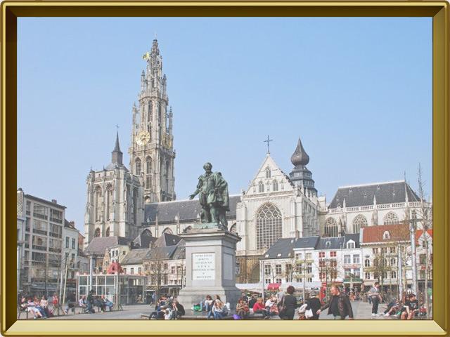 Антверпен — город, фото в рамке №1