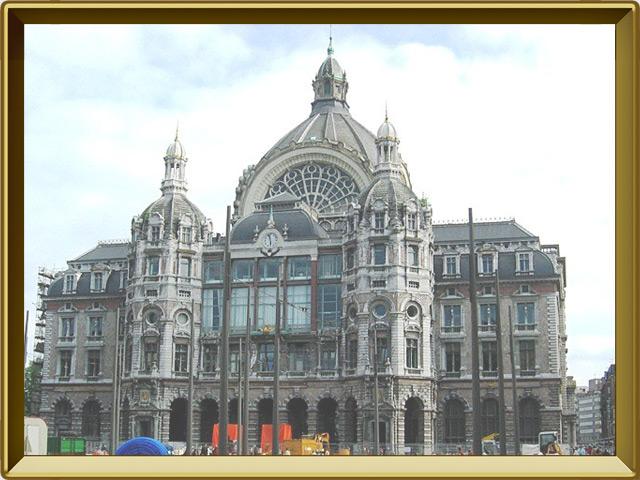 Антверпен — город, фото в рамке №2