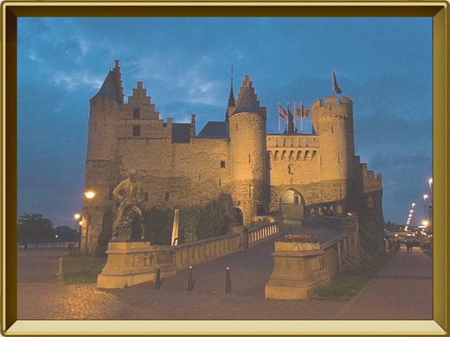Антверпен — город, фото в рамке №3