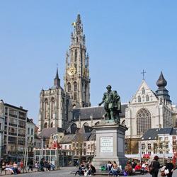 Антверпен — город, картинка цветная