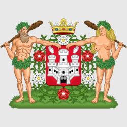 Антверпен — герб города, картинка цветная