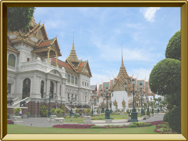 Бангкок — город, фото в рамке №1