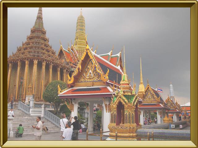 Бангкок — город, фото в рамке №2