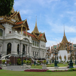 Бангкок — город, картинка цветная
