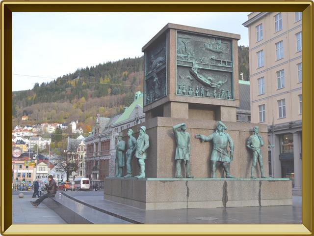 Берген — город, фото в рамке №1