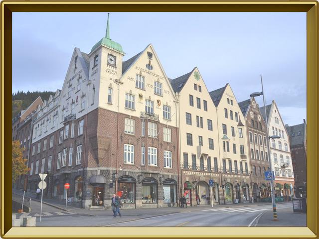 Берген — город, фото в рамке №3