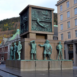 Берген — город, картинка цветная