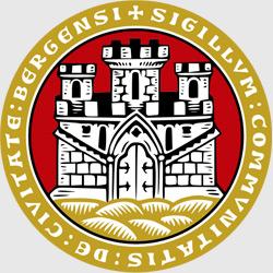 Берген — герб города, картинка цветная