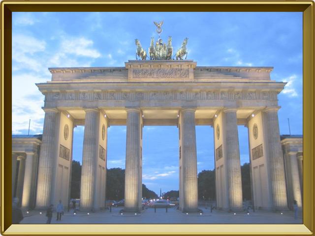 Берлин — город, фото в рамке №1