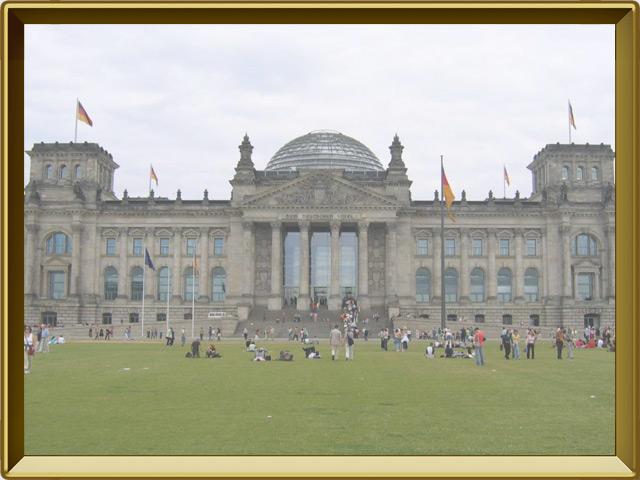 Берлин — город, фото в рамке №2