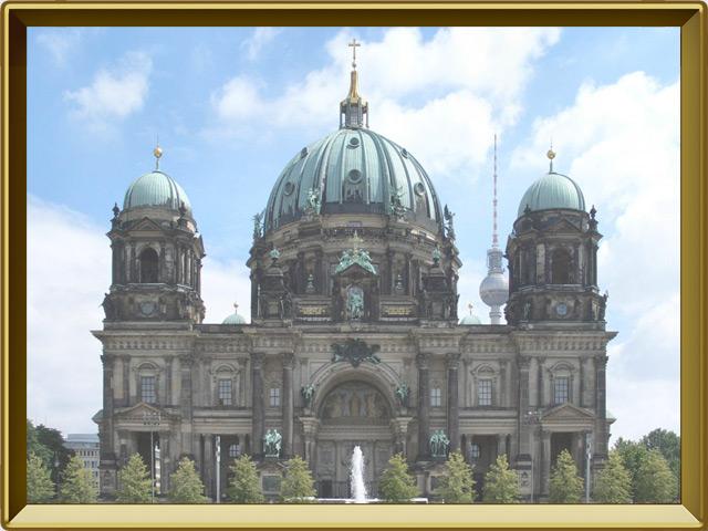Берлин — город, фото в рамке №3
