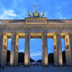 Берлин — город, картинка цветная