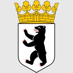 Берлин — герб города, картинка цветная