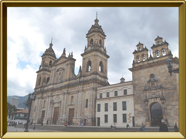 Богота — город, фото в рамке №1