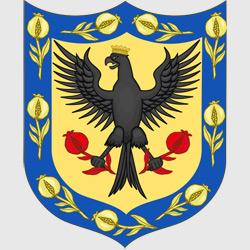 Богота — герб города, картинка цветная