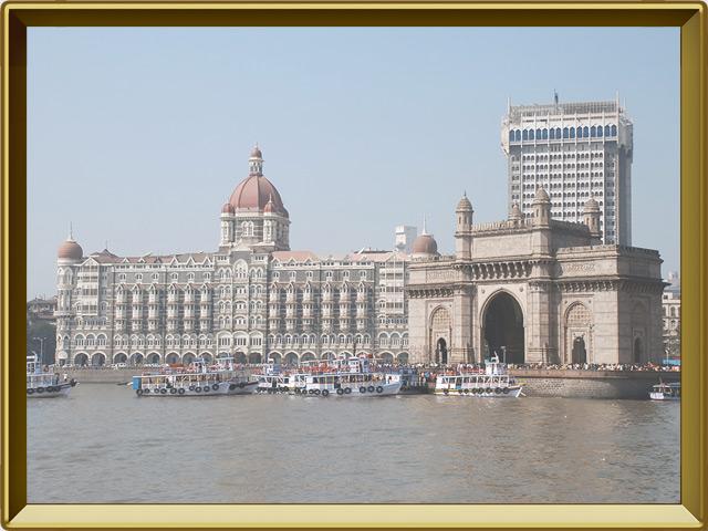 Бомбей (Мумбаи) — город, фото в рамке №1