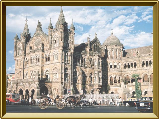 Бомбей (Мумбаи) — город, фото в рамке №3