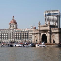 Бомбей (Мумбаи) — город, картинка цветная