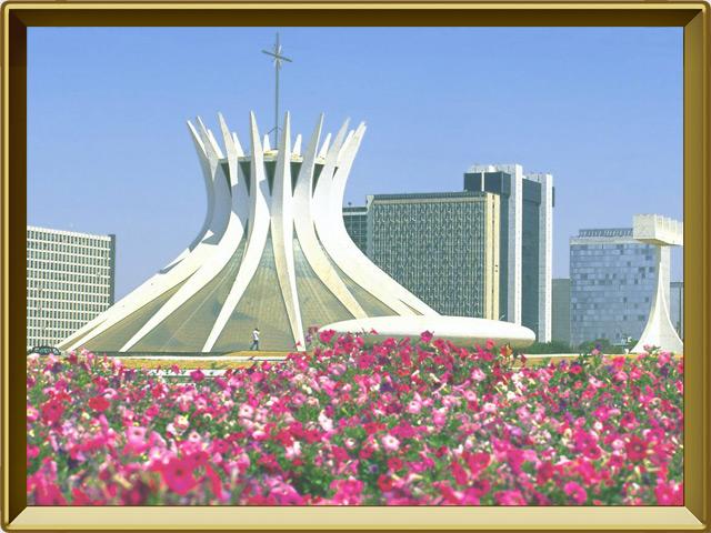 Бразилиа — город, фото в рамке №1