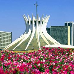 Бразилиа — город, картинка цветная