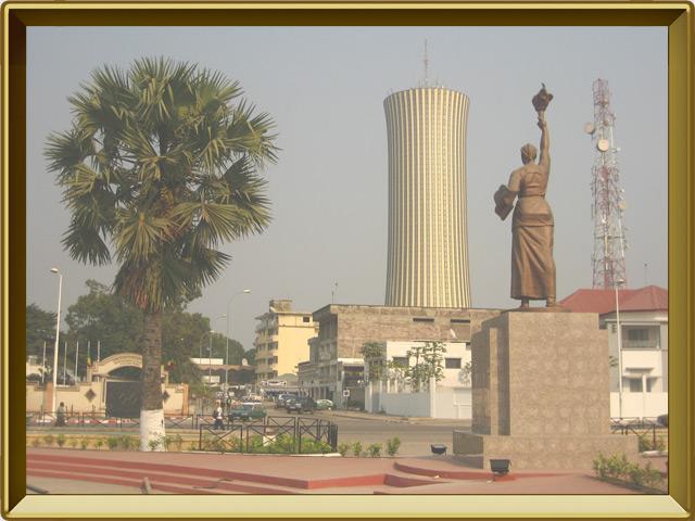 Браззавиль — город, фото в рамке №1