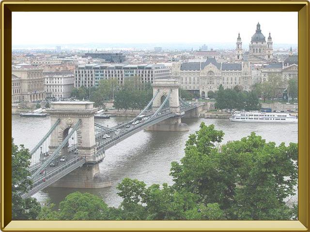 Будапешт — город, фото в рамке №1