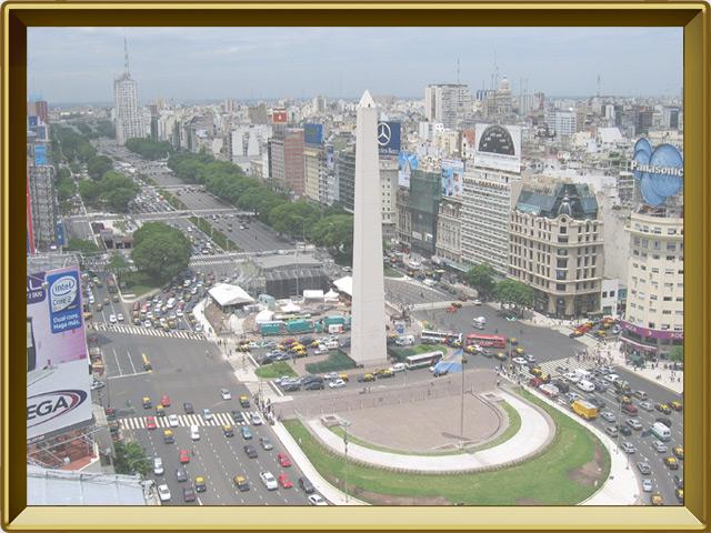 Буэнос-Айрес — город, фото в рамке №1