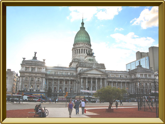 Буэнос-Айрес — город, фото в рамке №2