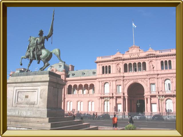 Буэнос-Айрес — город, фото в рамке №3
