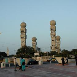 Дакар — город, картинка цветная