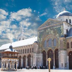 Дамаск — город, картинка цветная