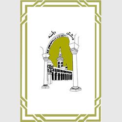 Дамаск — герб города, картинка цветная
