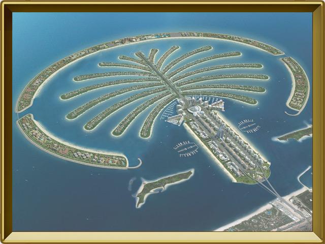Дубай — город, фото в рамке №3