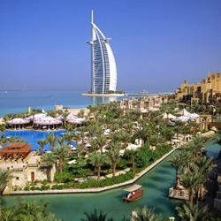 Дубай — город, картинка цветная