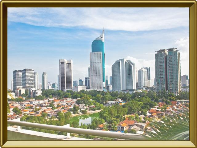 Джакарта — город, фото в рамке №1