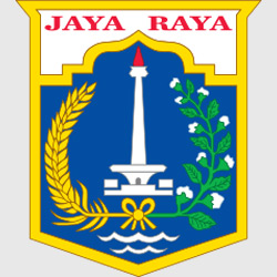 Джакарта — герб города, картинка цветная