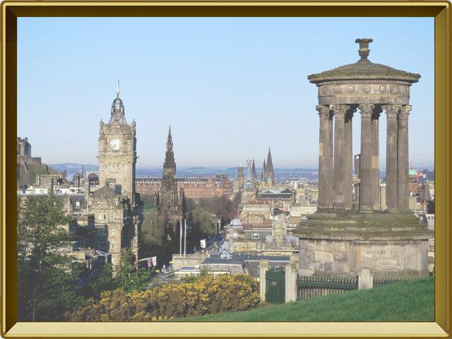 Эдинбург — город, фото в рамке №1