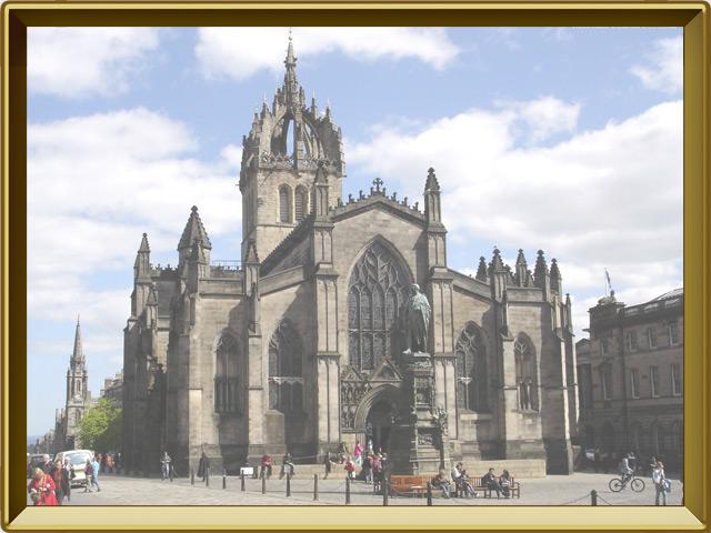 Эдинбург — город, фото в рамке №2