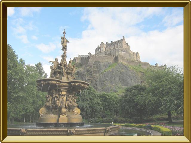 Эдинбург — город, фото в рамке №3
