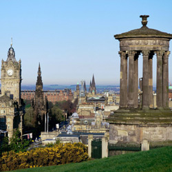 Эдинбург — город, картинка цветная